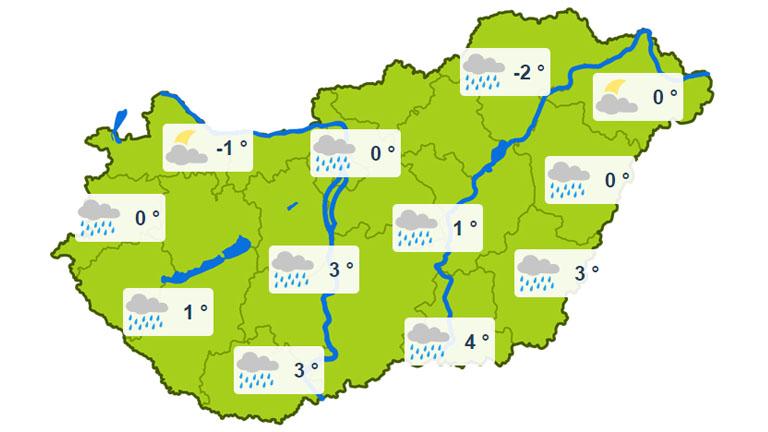 Keddi minimum hőmérsékletek - forrás: kiderul.hu