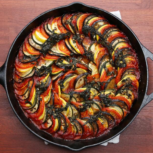 A sütőben sült francia lecsóban nem fogsz csalódni!