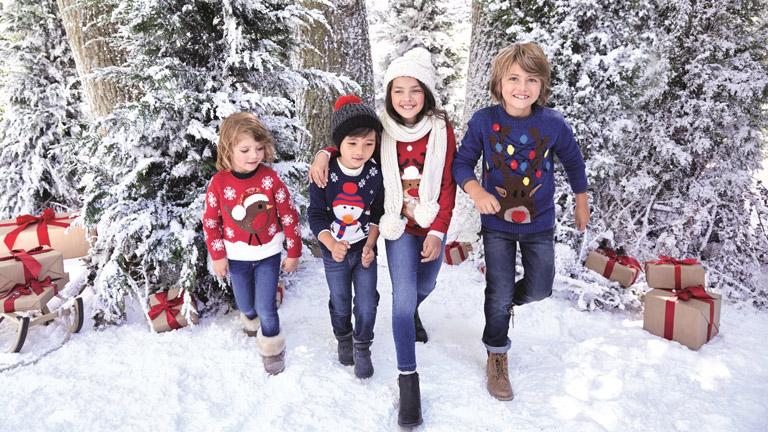 F&F Karácsonyi pulcsi az egész családnak (X)   nlc