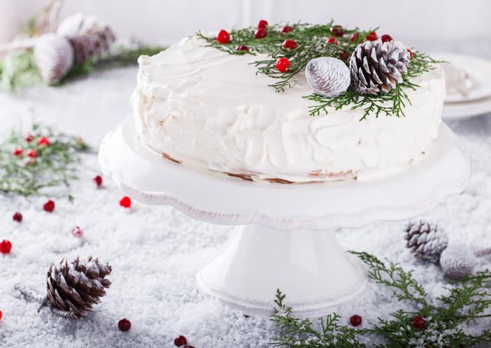 Elegáns és finom: gyönyörű hófehér karácsonyi sütik
