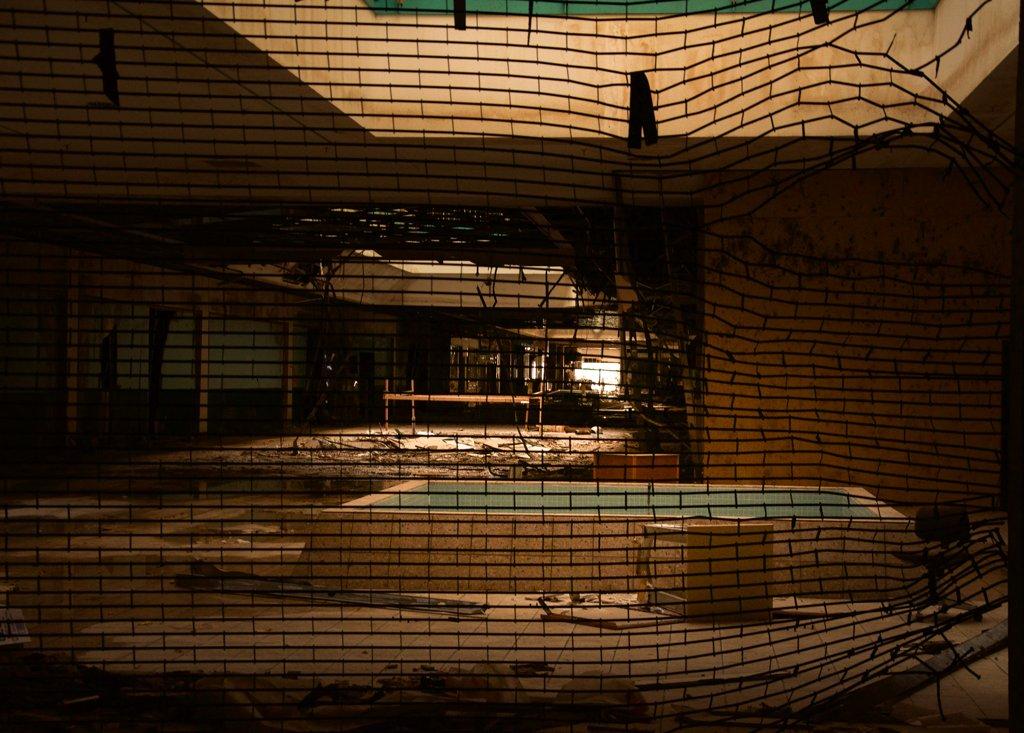 Hátborzongató képek egy elhagyatott bevásárlóközpontról