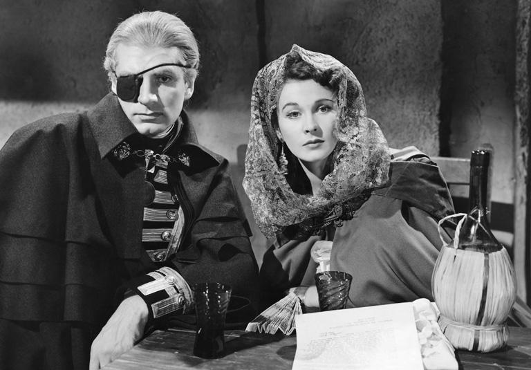 Laurence Olivier és Vivien Leigh a Lady Hamilton c. filmben