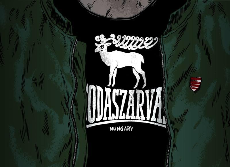 Egy magyar grafikus és tetoválóművész, Untune javaslata a magyar szélsőségesek számára (Kép: Untune)