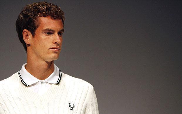 Andy Murray-t ma már más szponzorálja, de a skót teniszező sokáig Fred Perry-ben nyomult (Fotó: Tumblr)