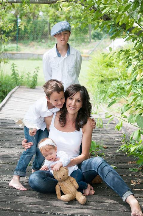 Horváth Bea és a gyerekek