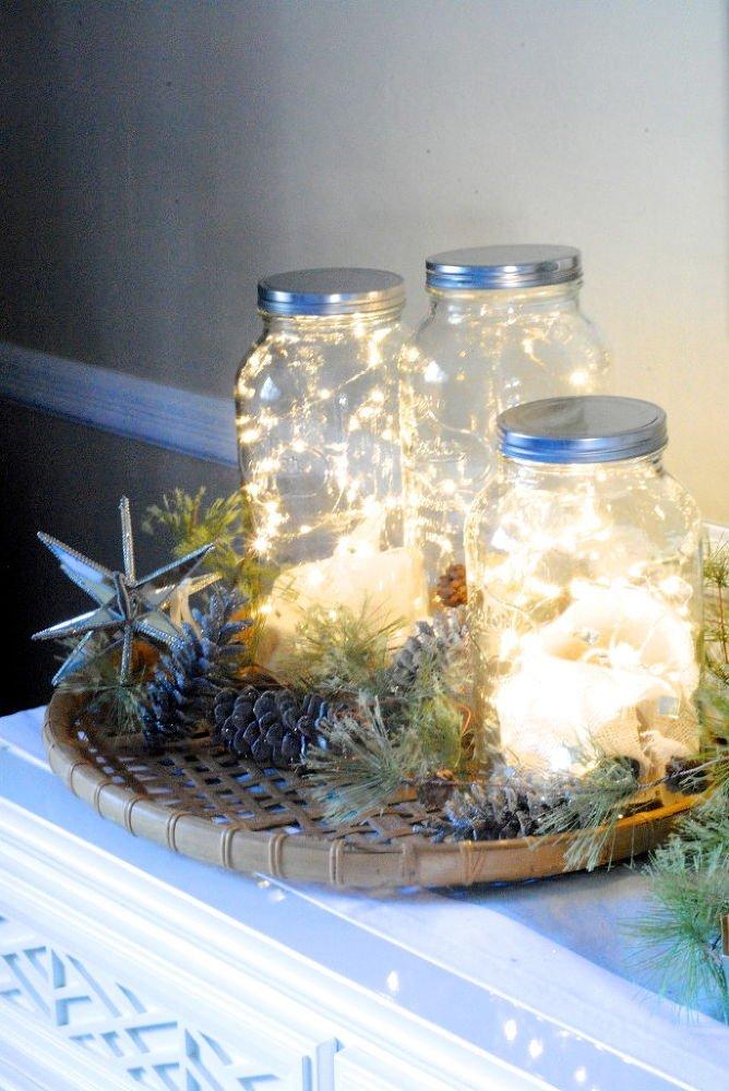 Dekorálj karácsonykor is befőttes üvegekkel! - 8 szuperkreatív ötlet