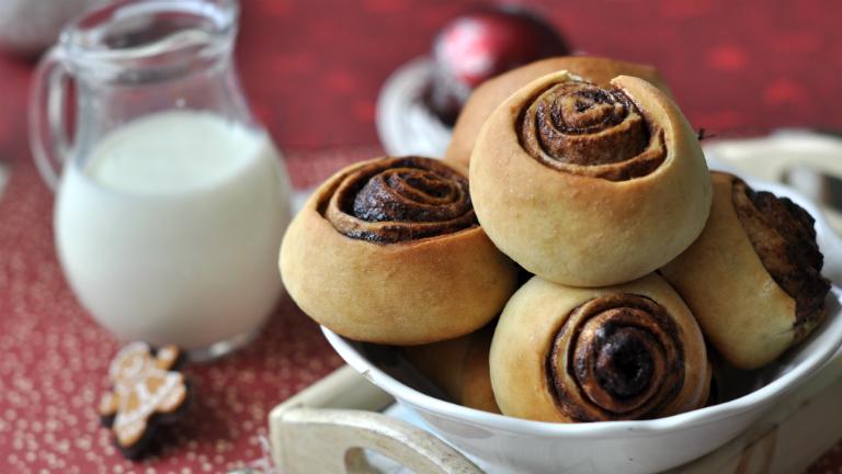 A tökéletes karácsonyi reggeli: mézeskalácsos kakaós csiga