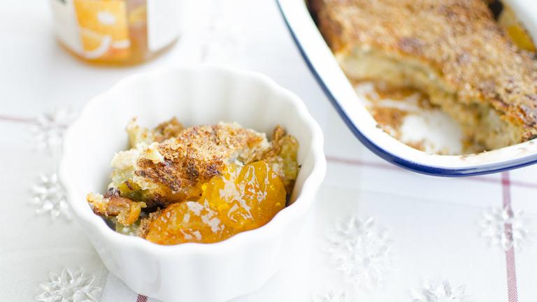 Kényeztető reggeli az ünnepekre: isteni karácsonyi kenyérpuding