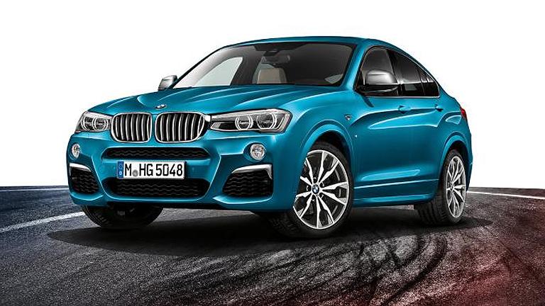 Illetve a BMW X4 (Fotó: BMW)