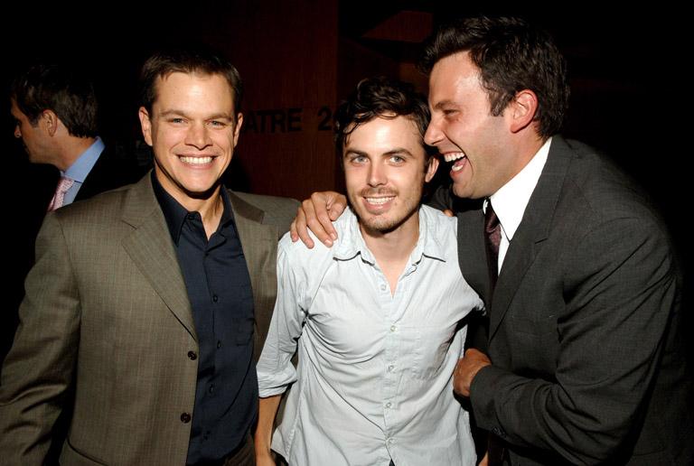 Matt Damon, Casey és Ben Affleck