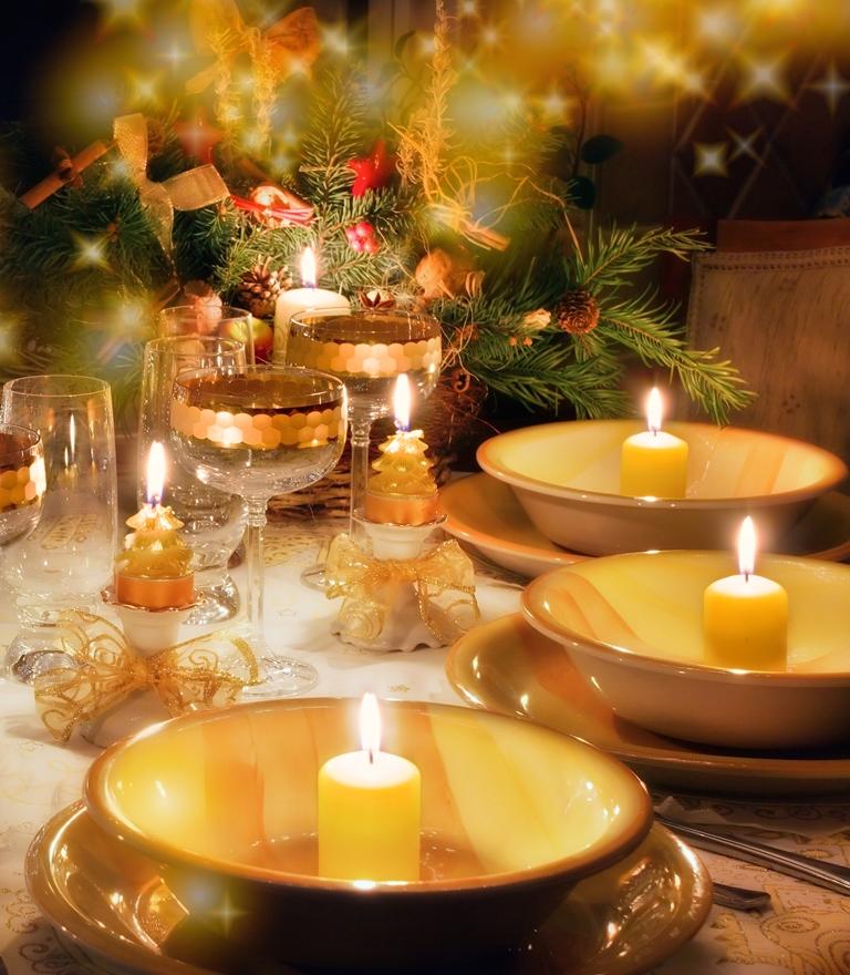10 perces karácsonyi gyertyák