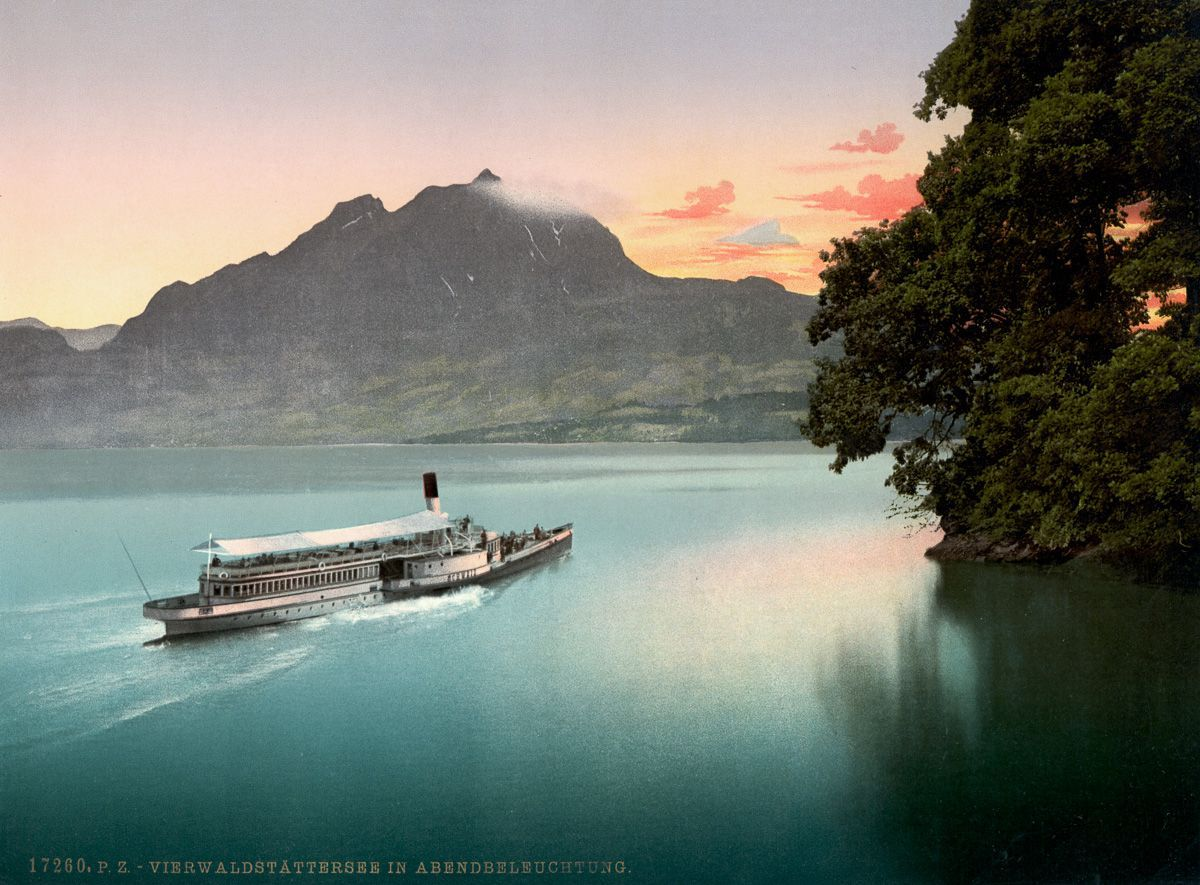 Gyönyörű, 126 éves svájci képeslapok kerlültek elő