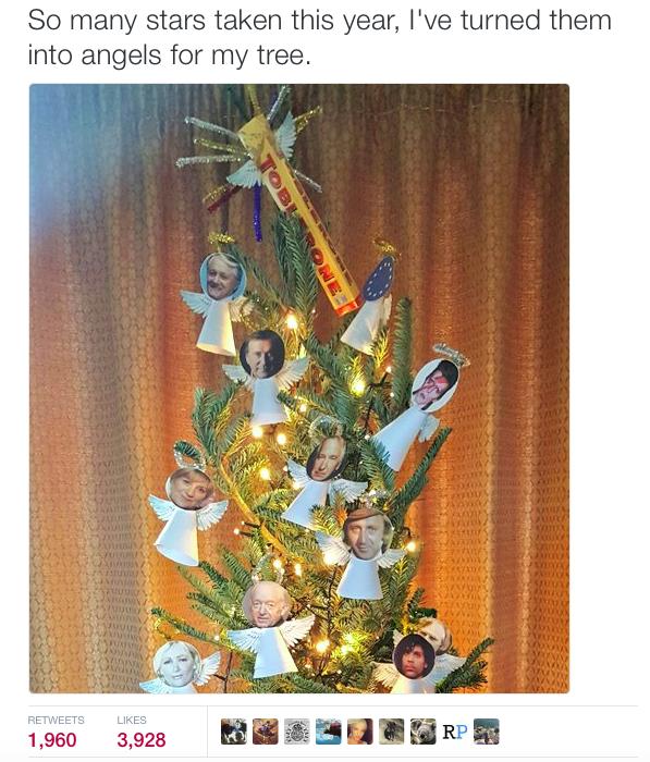 Valaki megcsinálta az idei év legszomorúbb karácsonyfáját