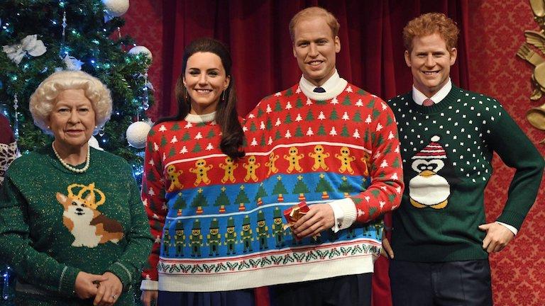 Még a karácsonyi pulcsin is osztozik Katalin hercegné és Vilmos herceg