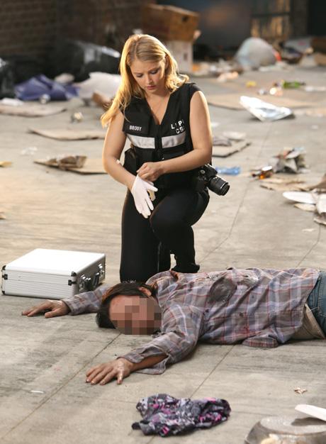 Jelenet a CSI: A helyszínelők című sorozatból