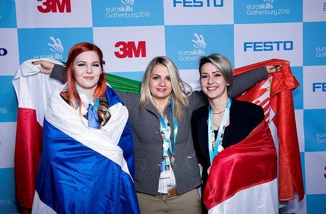 Az olasz győztes és a finn második helyezett mellett Szőllősi-Vágó Éva a harmadik helyet szerezte meg.