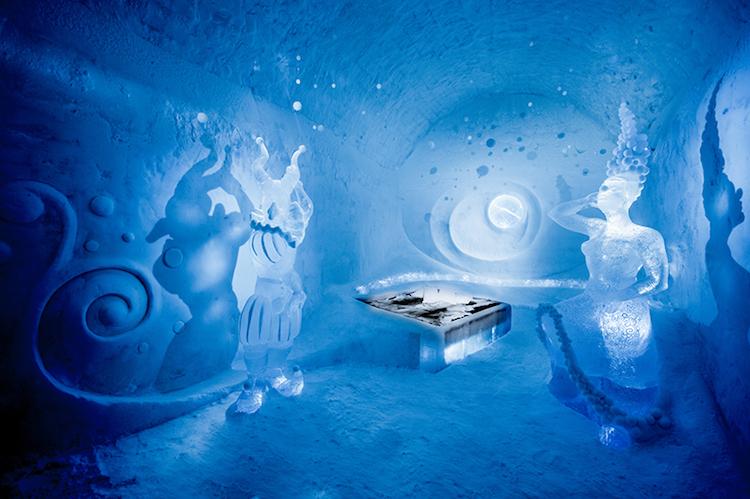 Már egész évben nyitva tarthat a svéd jégszálloda