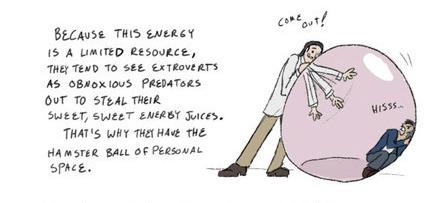 Nem furcsa vagyok, csak introvertált!