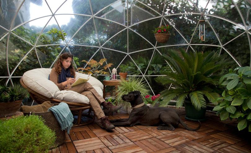 Egész évben élvezheted a kerted ebben a vízálló igluban