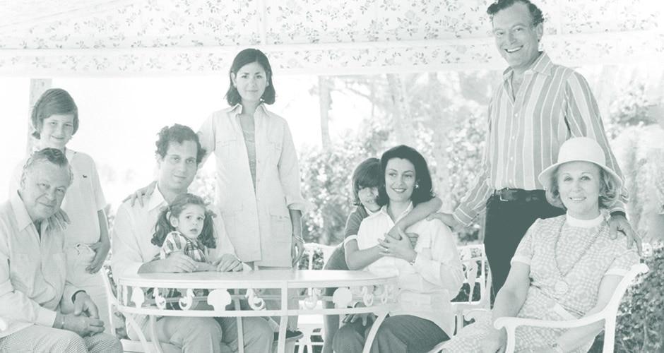 A Lauder család 1972-ben, Palm Beachen