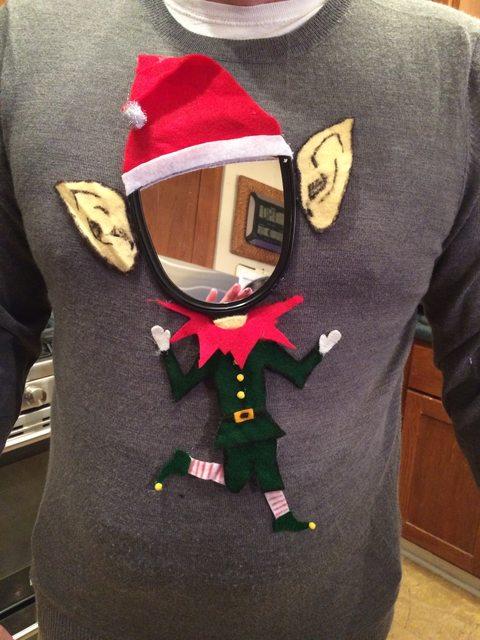 Az egész irodát kiborította a csúnya karácsonyi pulcsijával ez a férfi