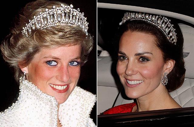 Katalin hercegné Diana hercegnőnek öltözött - fotó