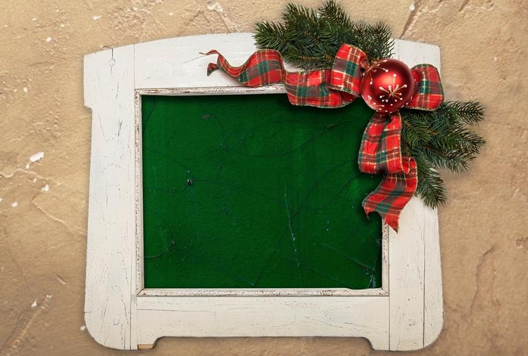 10 perc és kész - egyedi karácsonyi fotókeret