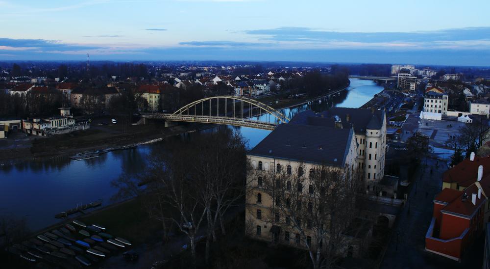 Győrben egy hidat is megrongált a szélvihar