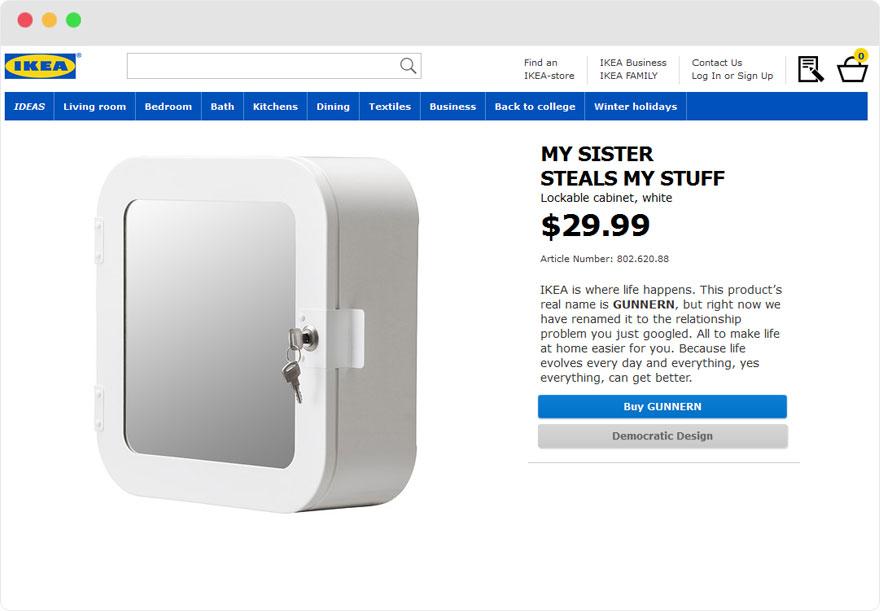 Zseniálisan nevezte át termékeit az IKEA