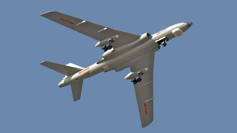 A kínai hadsereg nukleáris bombázója (Fotó: Wikipedia)