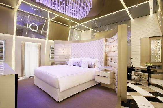 Így néz ki a világ legmenőbb hotelszobája