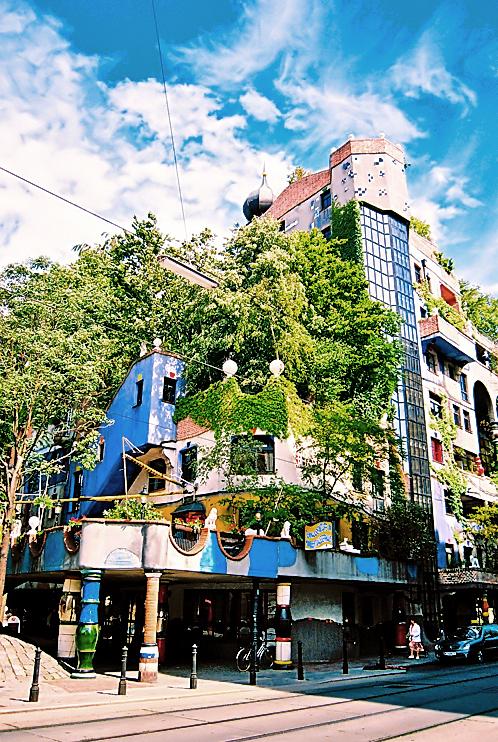 Hundertwasser-ház, Bécs