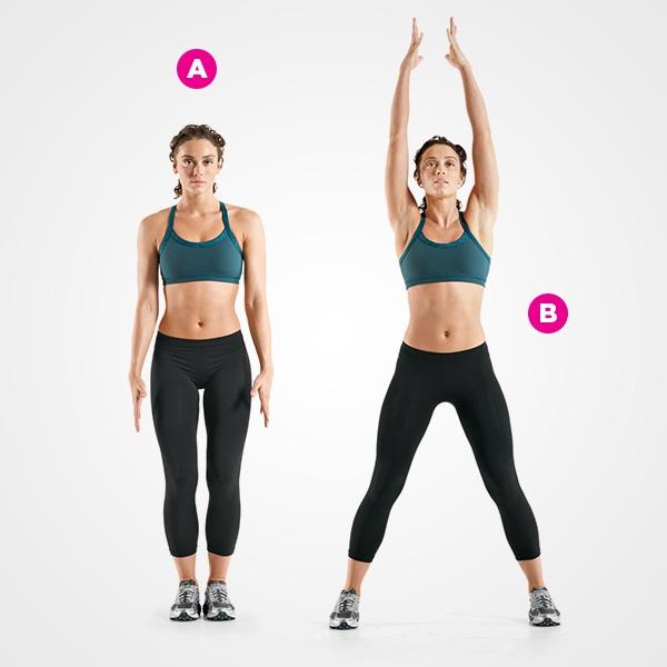 Ez a négyperces edzés segít, hogy bomba formába lendülj