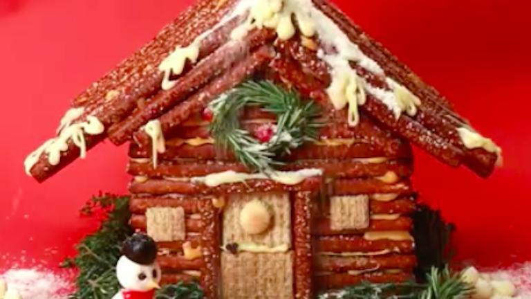 Eleged van a mézeskalácsból? Készíts karácsonyi sajtházat!