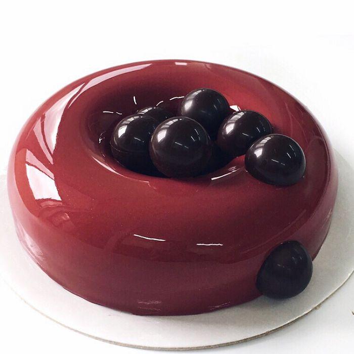 Hipnotikusak ezek a csodaszép, üvegszerű torták