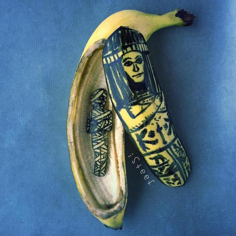 A legkreatívabb alkotások, amik banánból készülhetnek