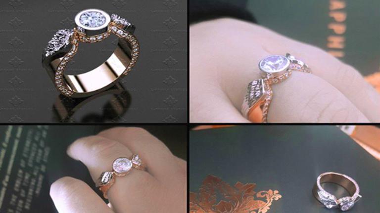 Varázslatos eljegyzési gyűrűk Harry Potter rajongóknak