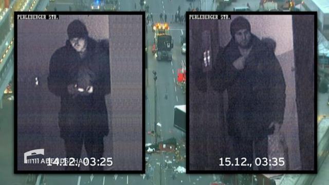 Berlini merénylet: felvétel készült a terroristáról a támadás után - fotó