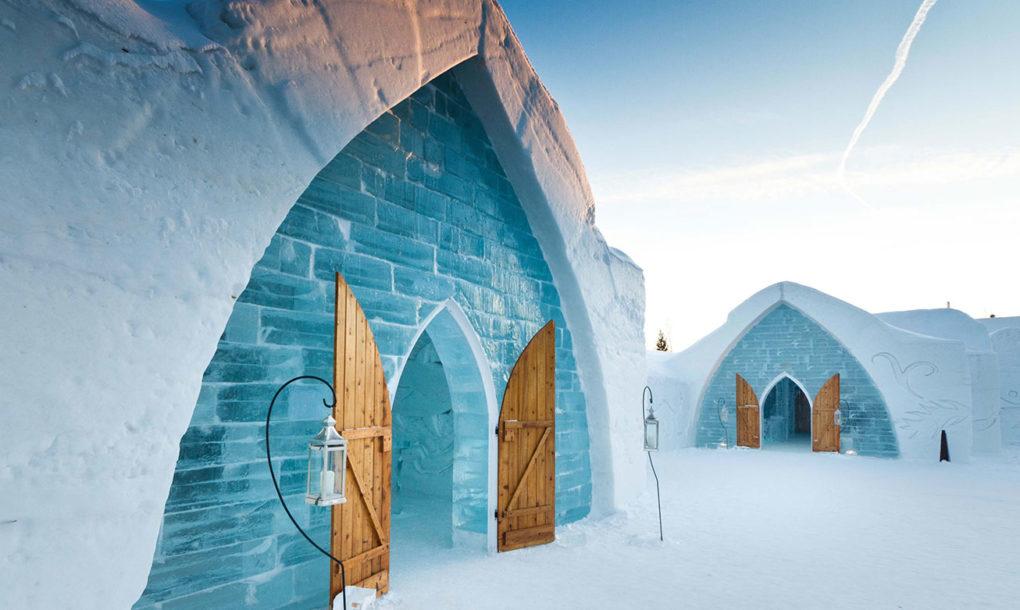 A világ legelképesztőbb téli ökoszállodáitól neked is tátva marad a szád