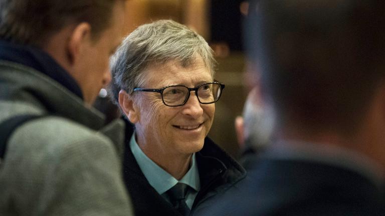 Bill Gates a Microsoft után ma már filantrópiával foglalkozik