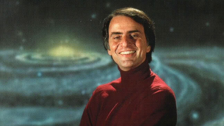 Carl Sagan (Fotó: Tumblr)