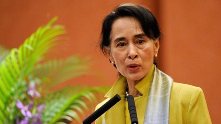 Ang-san Suu Kyi (Fotó: Tumblr)