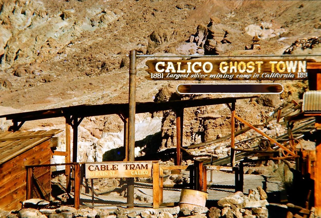 Calico, a kaliforniai szellemváros - fotók