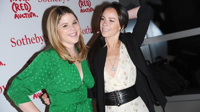 Jenna Bush Hager (b.) és testvére, Barbara Bush már 2009-ben is írtak az Obama-lányoknak