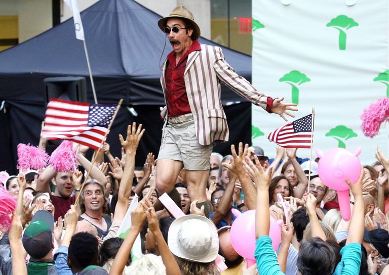 Jake Gyllenhaal az Okja c. filmben (Fotó: Profimedia)