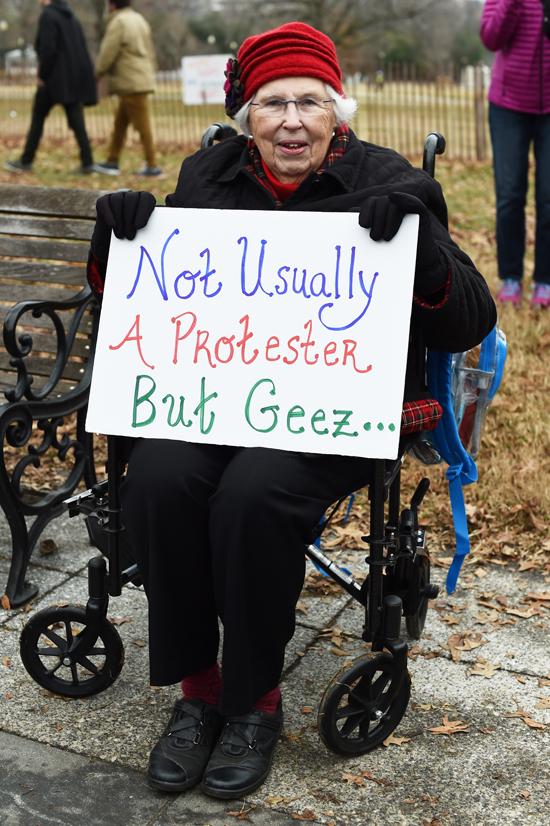 A legfiatalabbaktól az idősebbekig számos generáció képviseltette magát a demonstrációkon