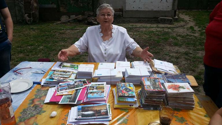 1000-nél is több képeslapot kapott szülinapjára a magyar néni