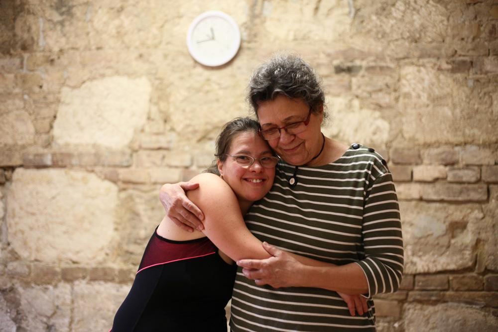 Cili és édesanyja Kati (Fotó: Hernád Géza)