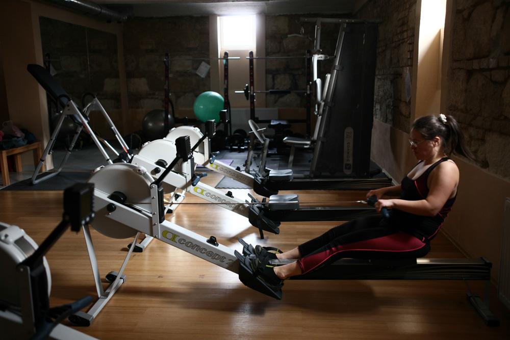 Cili edzés közben (Fotó: Hernád Géza)