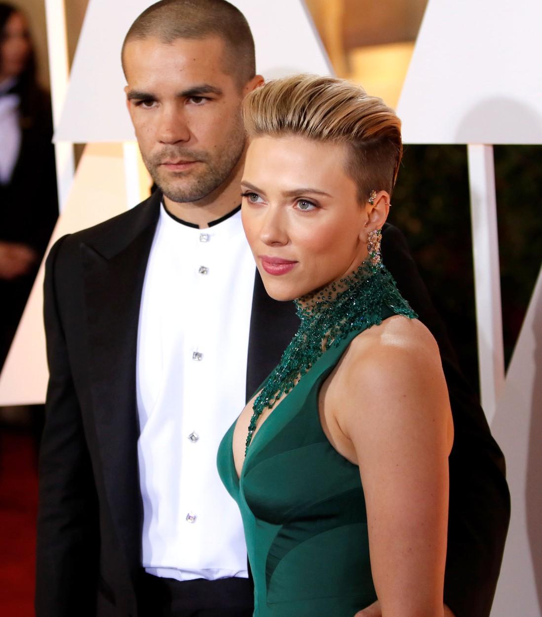 Titokban szakított férjével Scarlett Johansson
